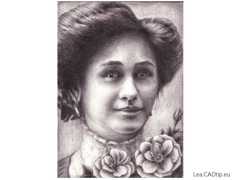 Prababička, rok 1910